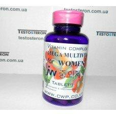 Мультивитамины для женщин, мегадозировка. 90 таб