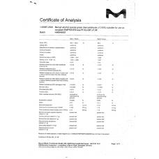 Сертификат на Бензиловый спирт